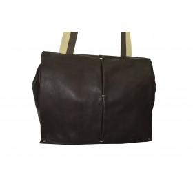 Soft cowhide shoulder bag...
