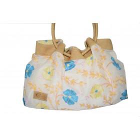 Shoulder bag in embroidered...