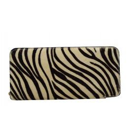 Wallet beige pony skin...