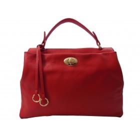 Leather handbag          57